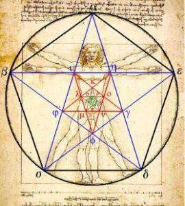 uomo-vitruviano-stella-5-punti-pentagramma