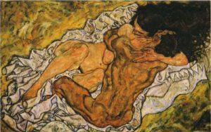 Egon-Schiele-Abbraccio